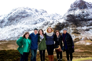 Group photo at Glencoe!