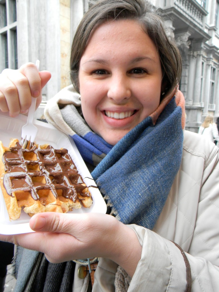 GET IN MY MOUTH, WAFFLE.