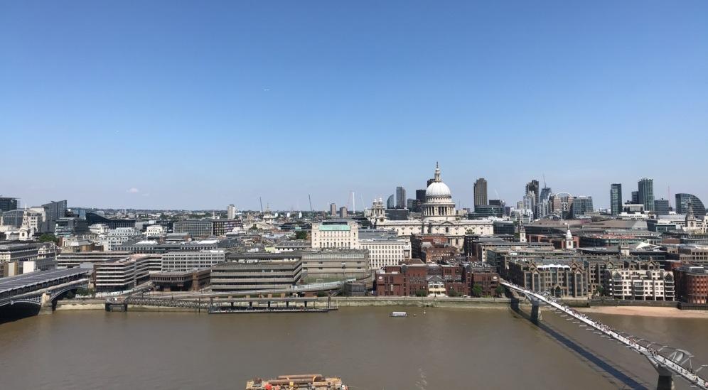 Tate Modern Art Museum Terrace