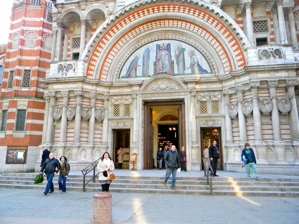 Westminster Cathedral on Easter morning. Alleluiar!