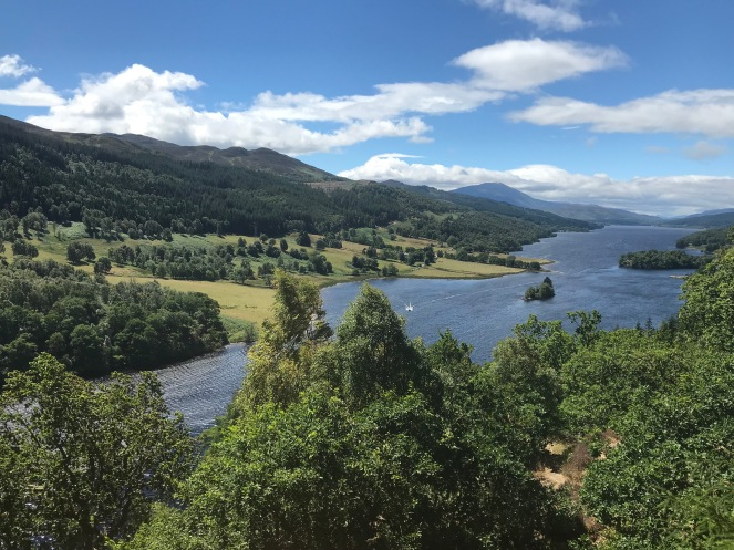 Queen's View, outside of Pitolchry, Scotland