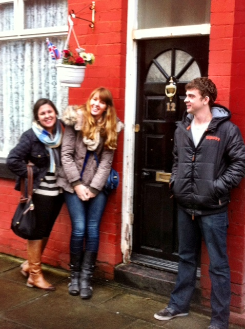 This is a Beatles' house... I'm not remembering which one, but I'm pretty sure it's George Harrison's. Awkward Tyler.