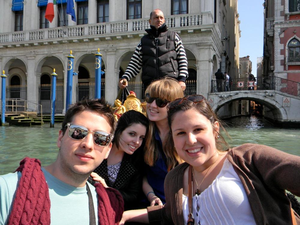 We loved our gondolier, Antonio. Sebastian especially.