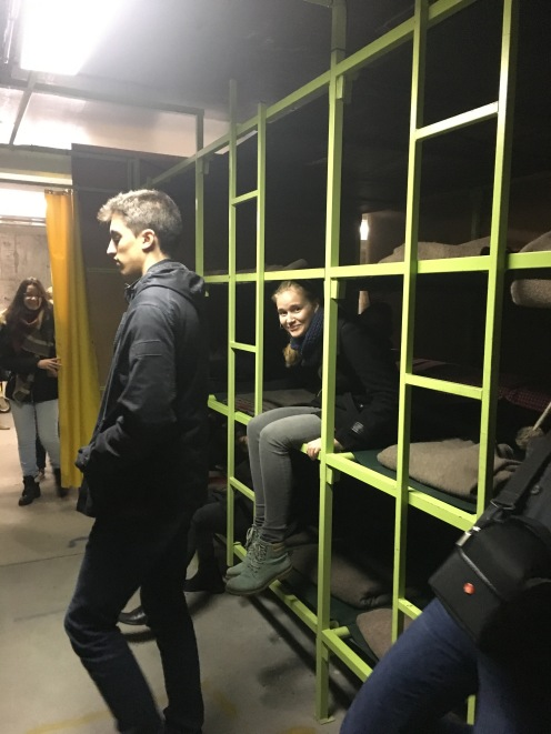 A look at the 7 story shelter -- Giving the bunker a test-run