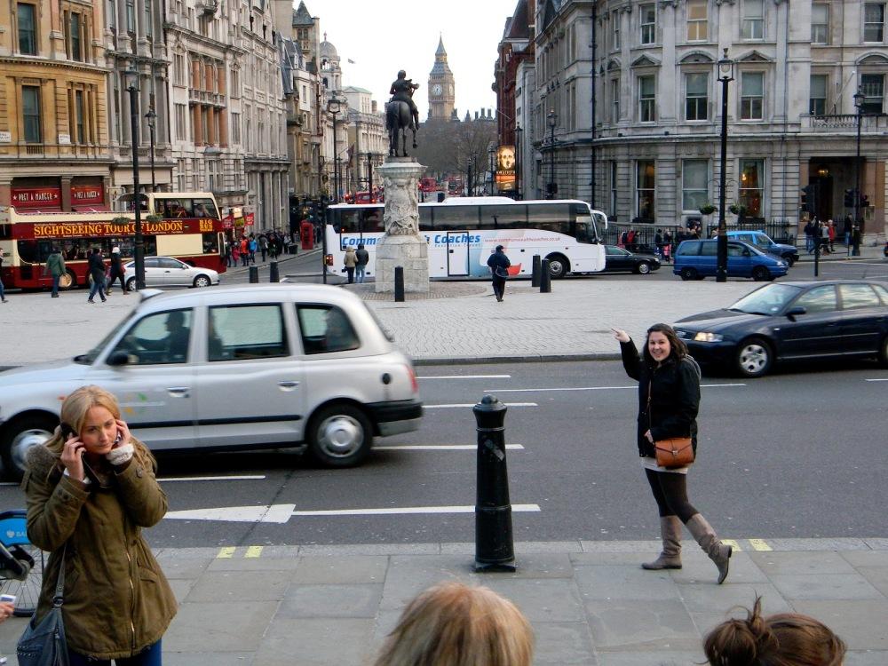 First sighting of Big Ben, who isn't so big.
