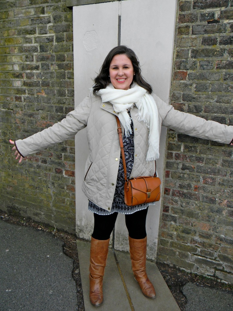 """Standing on the Prime Meridian! The line that I was always taught was """"invisible..."""""""
