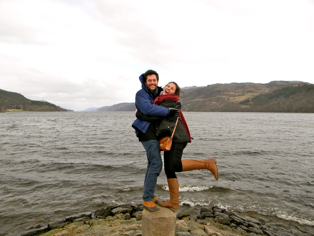What? I'm falling? No way. Us with the Lochness river. Ya know, home of Nessy, the Lochness monster! Derr.