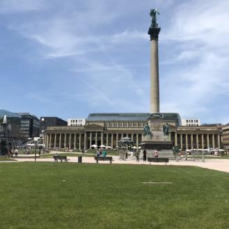 Schlossplatz (large area around the castles)