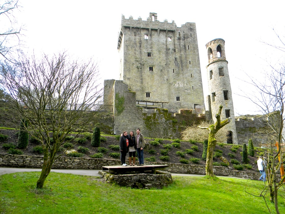 This is Blarney Castle. You know, the site of Campo vs. Injured Indian.